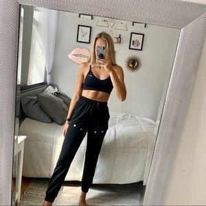 Black Joggers / Shorts